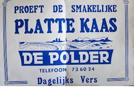 Verse platte kaas De Polder mager